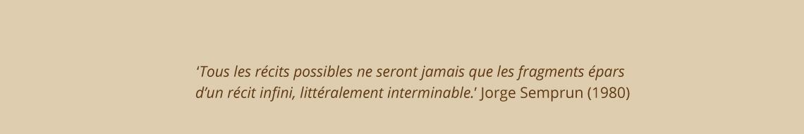 Citaat Jorge Smprum